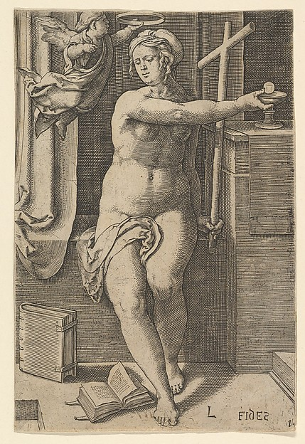 Faith (Fides), from the series The Seven Virtues