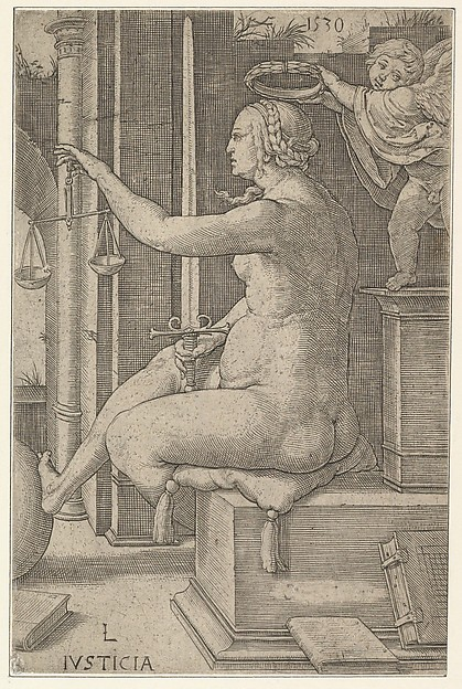 Justice, from the series The Virtues