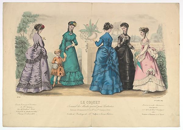 Le Coquet, No. 22, from Journal des Modes Spécial pour Couturières