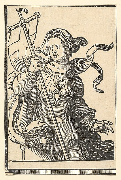 Phrygian Sibyl, from the series of Sibyls