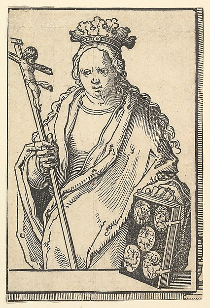Ecclesia Christi (Faith), from the series of Sibyls