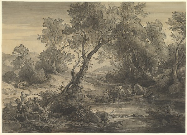 Centaurs at a Pond