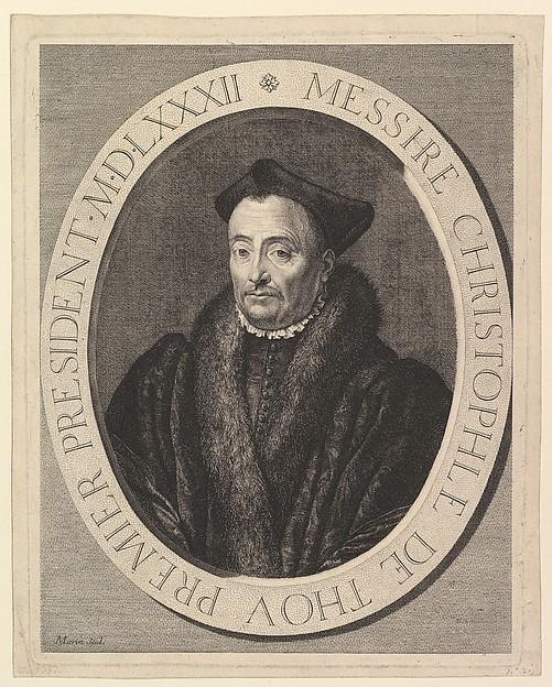 Christophe de Thou, premier president au Parlement