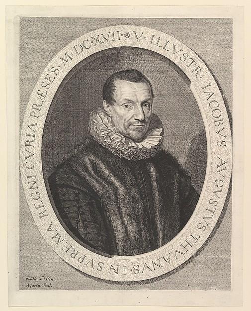 Jacques-Auguste de Thou, premier president au Parlement