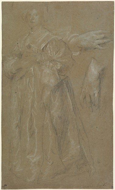 Study for a Portrait of a Lady