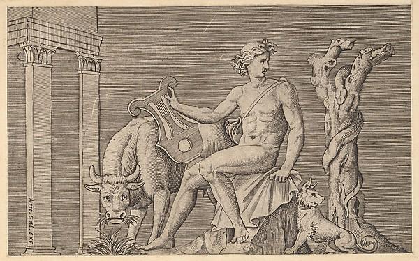 Speculum Romanae Magnificentiae: Apollo Tending the Flocks of Admetus