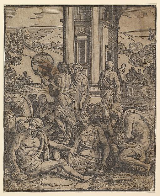 Frontispiece to Le sorti di Francesco Marcolini
