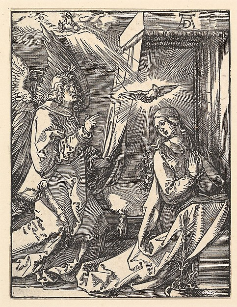 The Annunciation, from The Small Passion