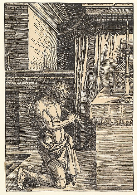 Fascinating Historical Picture of Albrecht Drer with The Penitent in 1510