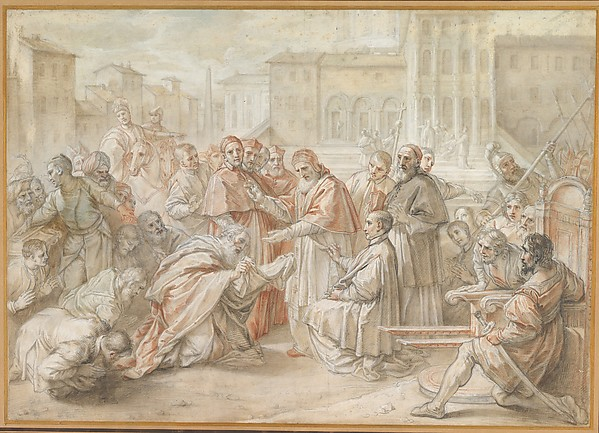 Pius V and the Ambassador of the King of Poland
