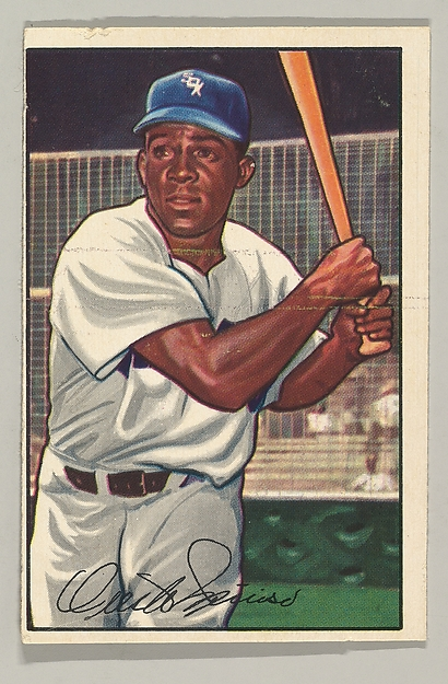 "Orestes ""Minnie"" Minoso, Outfielder, Chicago White Sox, from the series Picture Cards, series 6 (R406-6) issued by Bowman Gum"