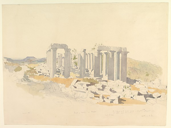 The Temple of Apollo at Bassae