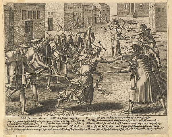 The Abuses of the Law, Plate 7