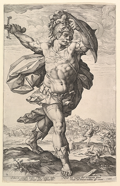 Horatius Cocles, from the series The Roman Heroes