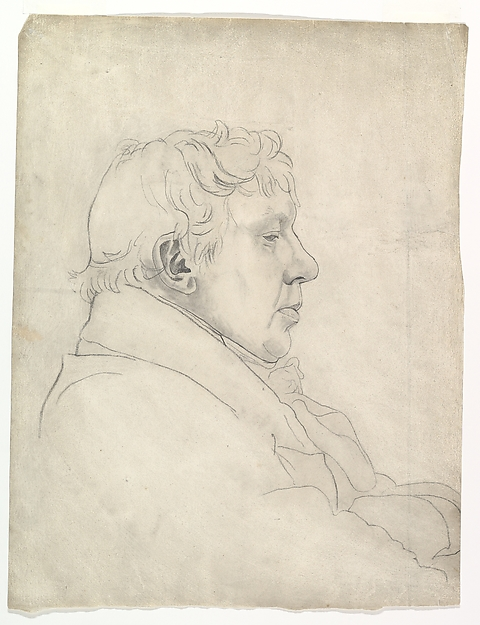 Portrait of a Man in Profile