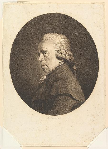Portrait of Johann Christian Brand
