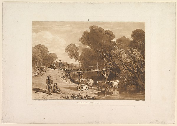 Bridge and Cows (Liber Studiorum, part I, plate 2)