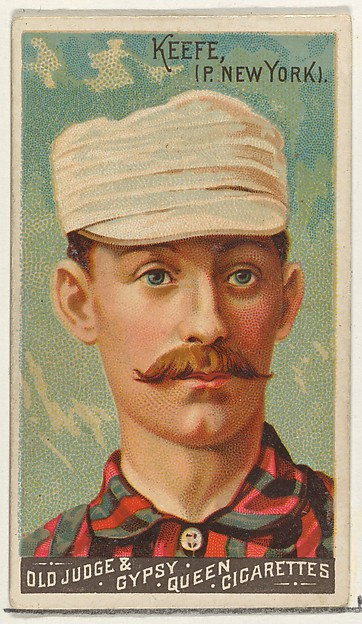 Tim Keefe, Pitcher, New York, from the Goodwin Champion series for Old Judge and Gypsy Queen Cigarettes