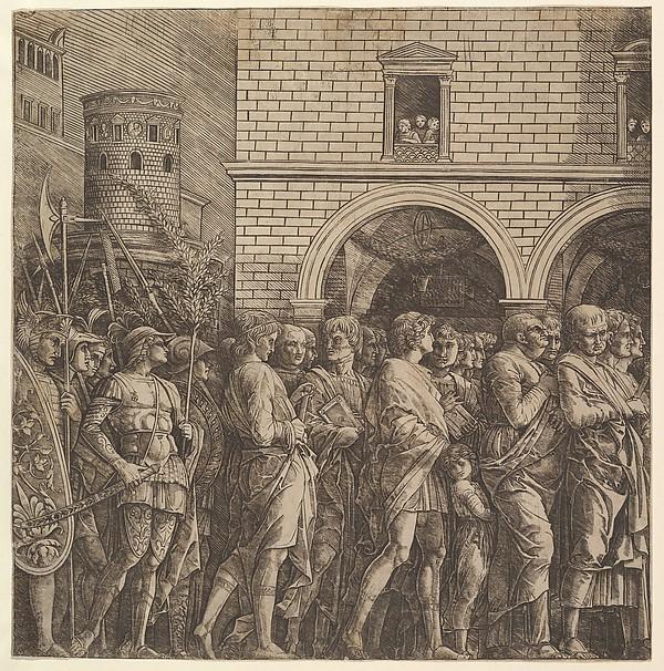 The Triumph of Caesar: The Senators
