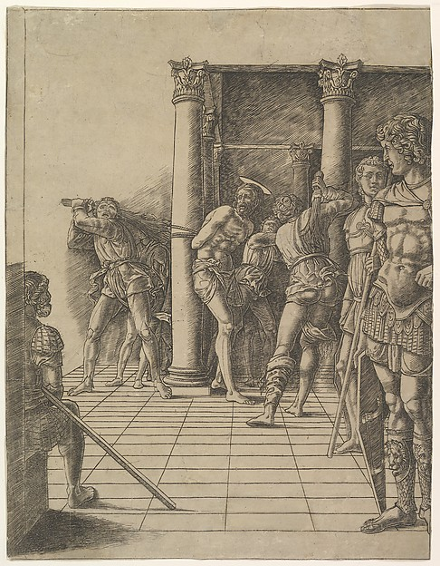 The Flagellation, with the Pavement