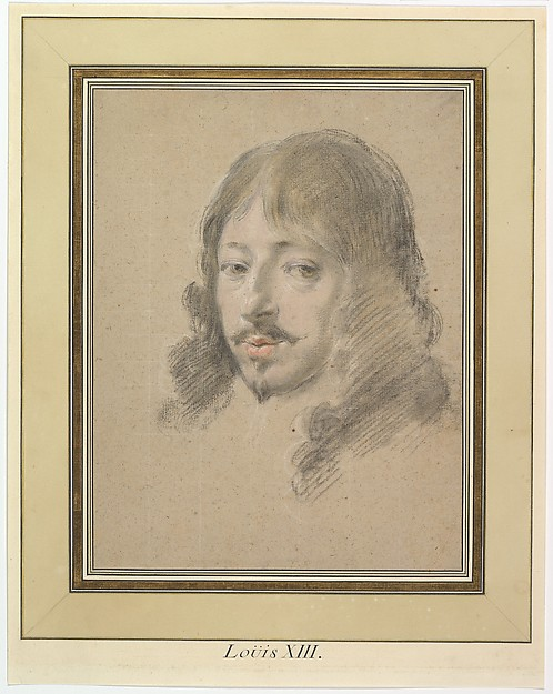 This is What Simon Vouet and Portrait of Louis XIII Looked Like  in 1632