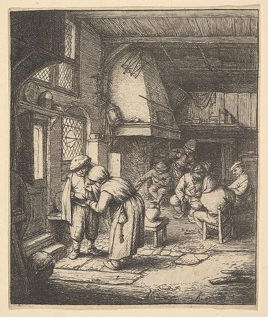 Peasant Paying his Bill