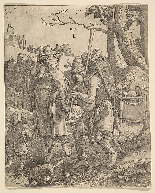 The Beggars (Eulenspiegel, owlglass)