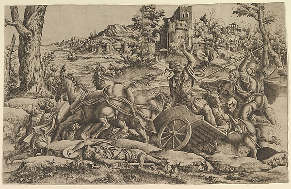 Agamemnon killing Odios