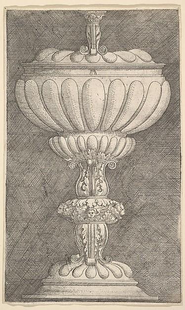 Design for a Covered Goblet