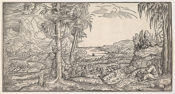 Landscape with Saint John the Evangelist