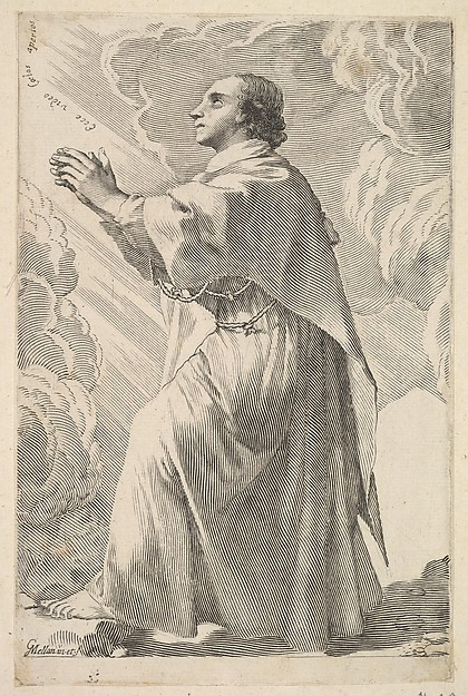 A Young Saint in Prayer