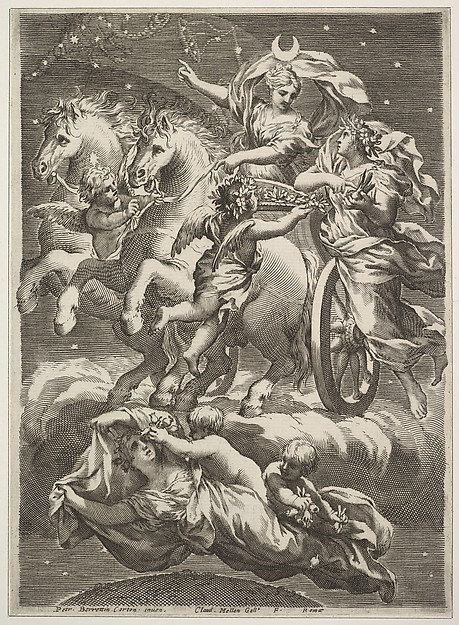 Diana in Her Chariot (La Lune sur son char)