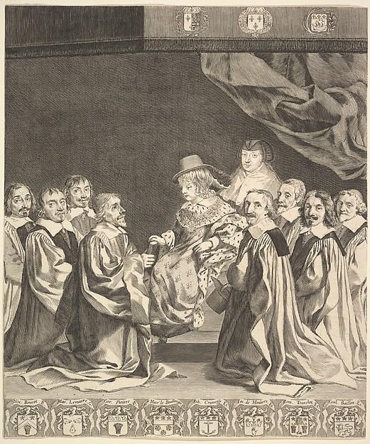 Frontispiece: Les Ordonnances royaux
