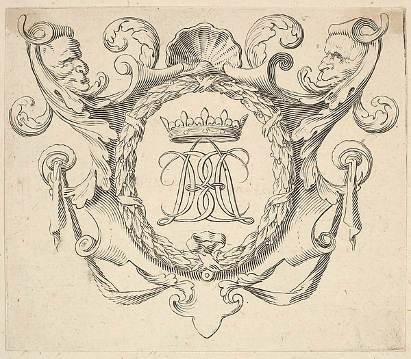 Monogram Crowned