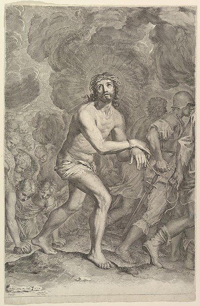 Christ Taken by Soldiers (La Montée au Calvaire)