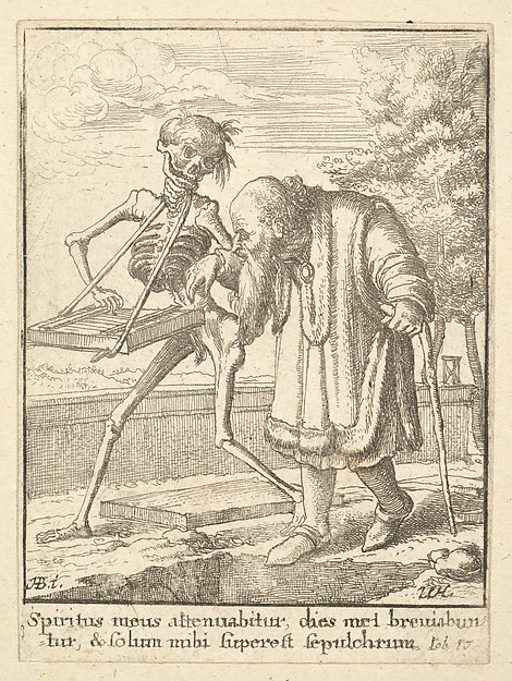 Old Man, from the Dance of Death