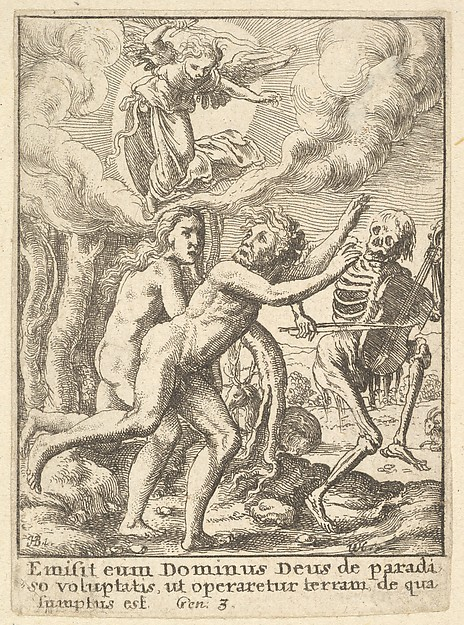 Paradise Lost, from the Dance of Death