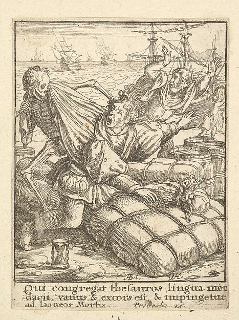 Merchant, from the Dance of Death
