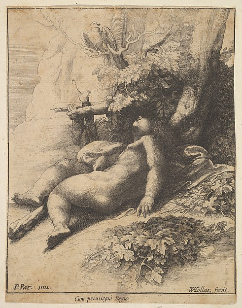 Infant Hercules Asleep