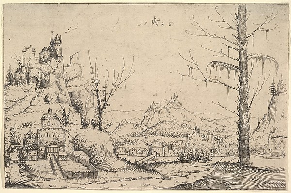 (Landscape with Fortified Towns)