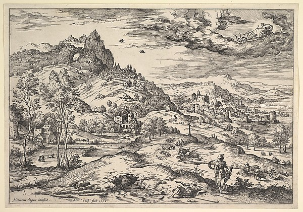 Landscape with Mercury Holding Argus's Head