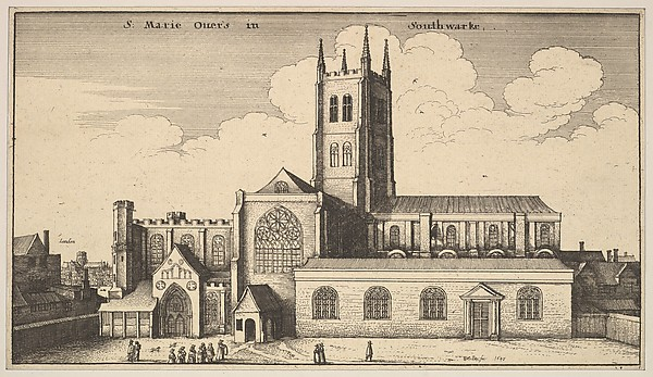 S. Marie Overs in Southwarke (St. Mary Overy, now Southwark Cathedral)