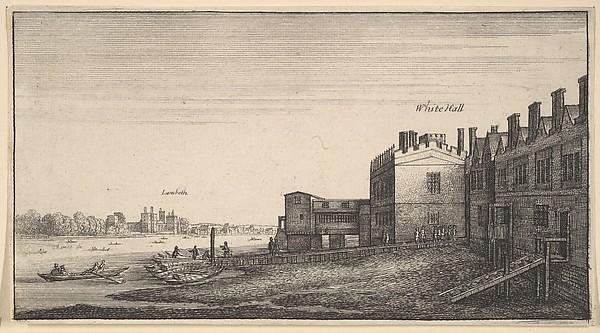 Lambeth from Whitehall Stairs (Amoenissimi aliquot locorum... Prospectus)