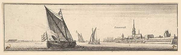 Emmerick (River views in Germany and the low countries)