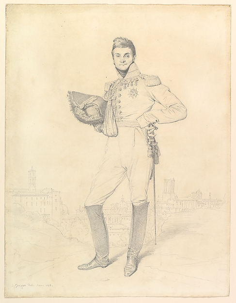 Portrait of General Louis-Étienne Dulong de Rosnay