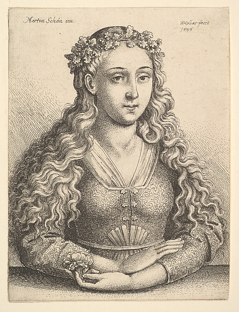 Woman with Wreath of Oak Leaves