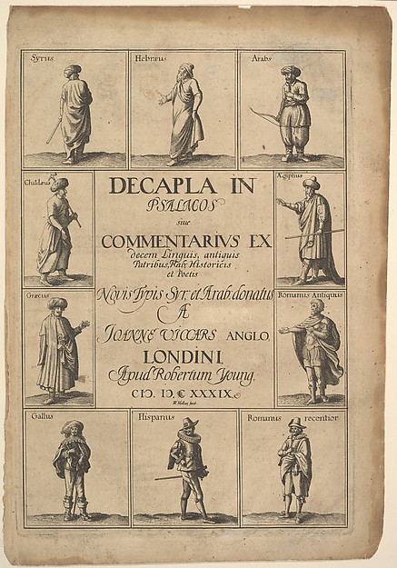 Title page: Decapla in Psalmosiue Commentarius Ex