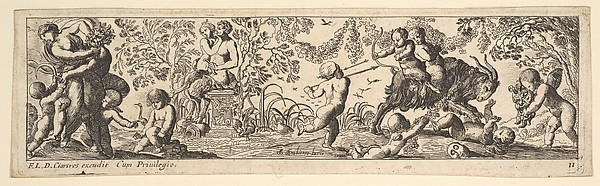 Fascinating Historical Picture of Pierre Brebiette with Childrens Games in 1615