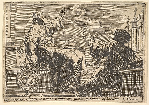 Two Philosophers Watching an Eclipse