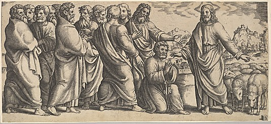 The Delivery of the Keys to Peter